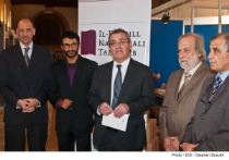 Minister Evarist Bartolo at Book Fair