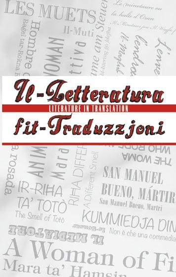 9789995782801 Il-Letteratura fit-Traduzjoni