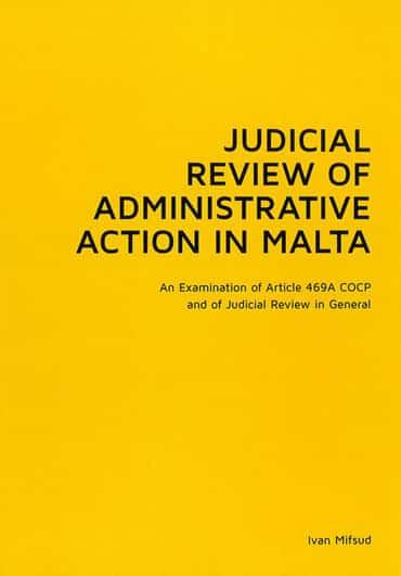 Judicial Review BDL Books Cover