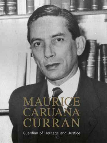 Maurice Caruana Curran BDL Books Cover