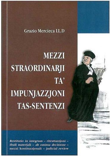 Mezzi-Straordinarji-ta-Impunjazzjoni-tas-Sentenzi-BDL Books Cover